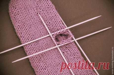 We knit mittens