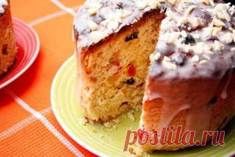 Миндальный кулич — рецепт с пошаговыми фото. Foodclub.ru