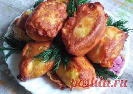 Картошка в кляре - пошаговый рецепт с фото. Автор рецепта Алла Кочетова (Максимец)☻☻☻ 🌱🌳 . - Cookpad