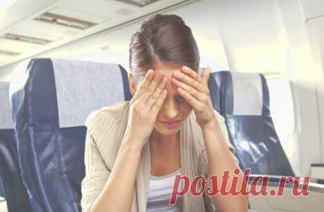 Для тех кто боится летать. Как настроить себя перед полетом?
