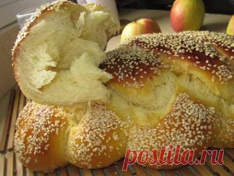 Рецепт - Хала (праздничный хлеб)