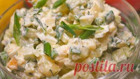 Топ-10 самых БЫСТРЫХ салатов от Лилии К.