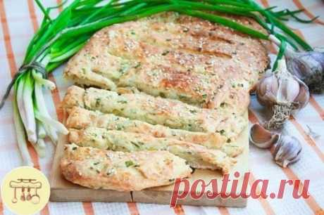 Луково - сырный хлеб. Он очень ароматный и такой вкусный!!!     #выпечка