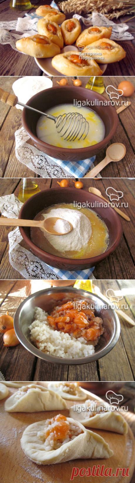 Расстегаи с рыбой и рисом - рецепт с фото пошагово.