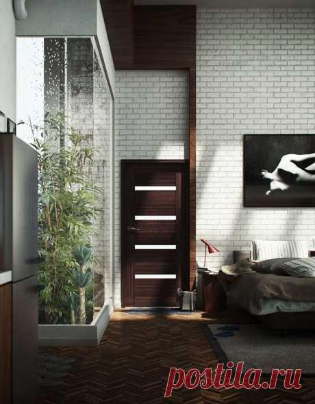 дизайн интерьера лофта