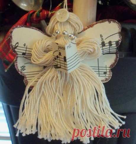 Поделка ангел (73 фото) - пошаговые мастер-классы по созданию ангелов из бумаги, фетра, бисера