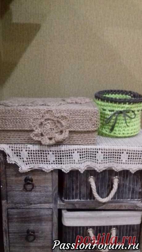 Интерьерное вязание-1. | Вязание крючком. Ваши работы