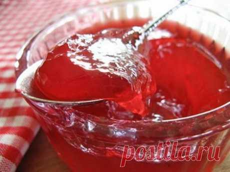 Варенье из клубники густое с желатином, рецепт, фото