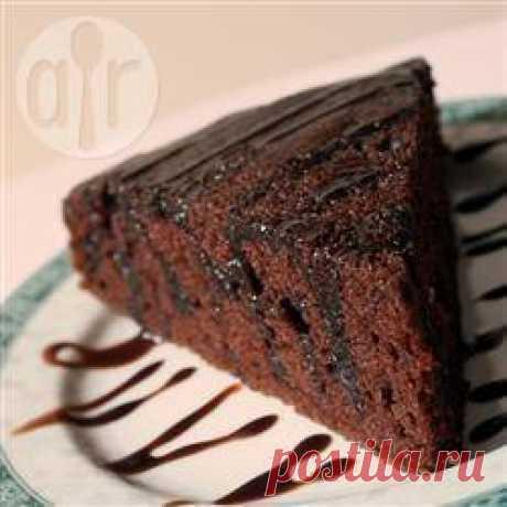 Рецепт: Шоколадный торт на растительном масле - все рецепты России