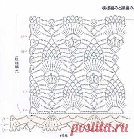 Ажурная кофта крючком - 50 схем и описаний для вязания кофточек