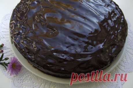 Самый шоколадный торт с вишней!