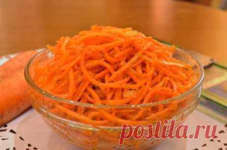 Морковь по - корейски. Быстро и просто, лучше магазинной. рецепт с фото