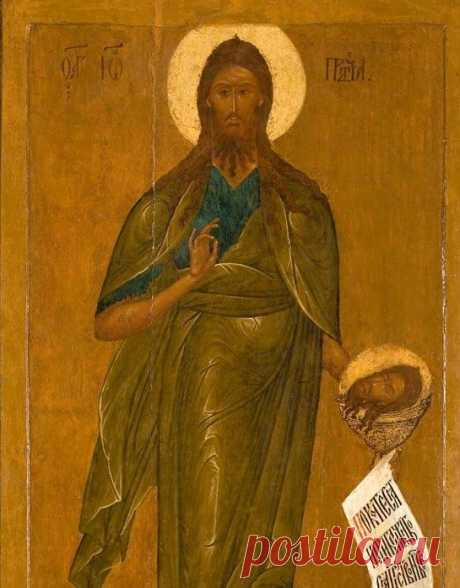 Иоанн Предтеча и его чудотворная икона «с обручем» / Слово Божие