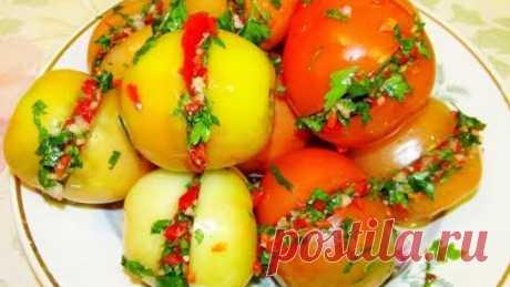 Квашеные помидоры ( бурые). Необыкновенно приятные.