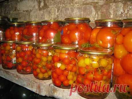 Сладкие помидоры без уксуса. - Корисні поради на всі випадки життя