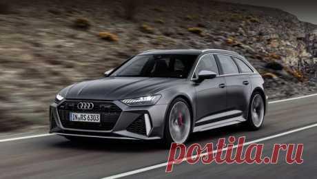 Универсал Audi RS6 Avant стал умеренным гибридом Модель кажется простым Авантом с иными бамперами, но компания уверяет: с обычным универсалом тут общие только крыша, передние двери и пятая дверь.