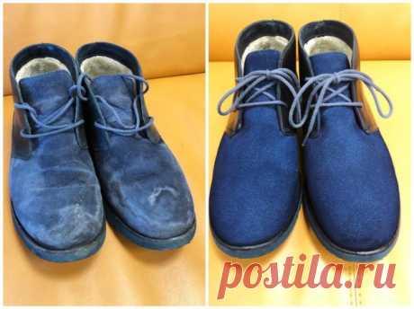 Обновляем старую обувь своими руками