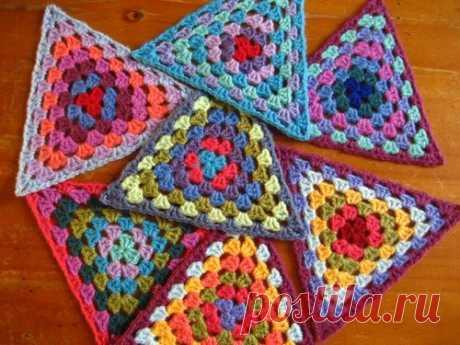 Бабушкины треугольники, видели такое?