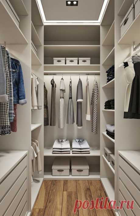 Нужна ли гардеробная в квартире?