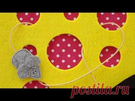 """Quiet book """"Cheese"""" page tutorial"""
