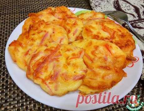 Ленивая пицца на завтрак – кулинарный рецепт
