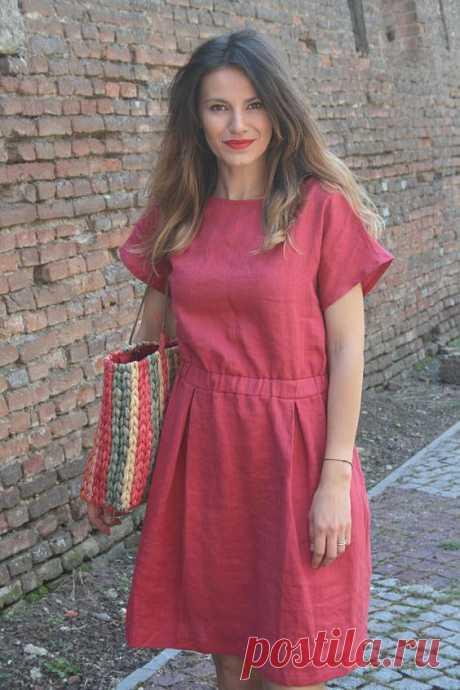 Простые платья на резинке. Идеи и выкройки