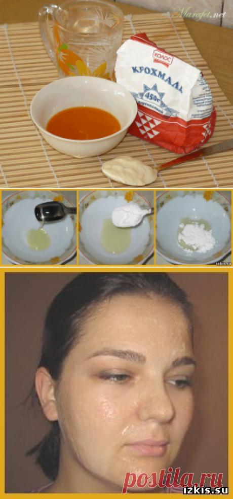 Замена ботокса-натуральная маска от морщин.