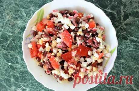 Мы подсели на этот салат. Вкусно и очень быстро | ОЛЯ ГОТОВИТ | Яндекс Дзен