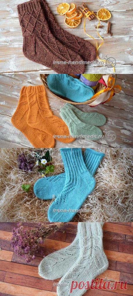 Носки (вязание, схемы и фото) - Irena Handmade