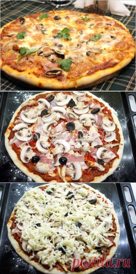 Итальянская пицца.