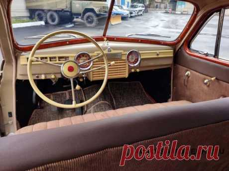 Восстановление автомобиля ГАЗ-20 Победа 1951 г.в Восстановили автомобиль ГАЗ-20 Победа 1951 года выпуска, предлагаю посмотреть небольшой фото отчёт проделанной работы