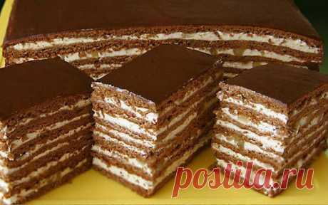 Торт «Спартак» с изумительным вкусом