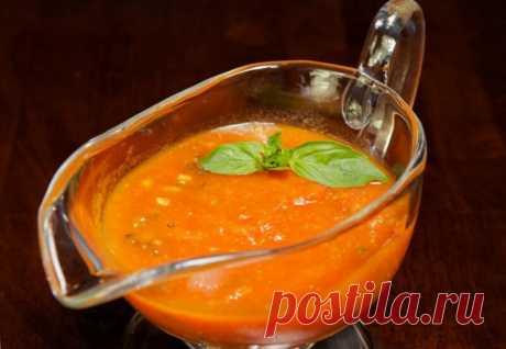 Томатный соус с базиликом | Блоги о даче и огороде, рецептах, красоте и правильном питании, рыбалке, ремонте и интерьере