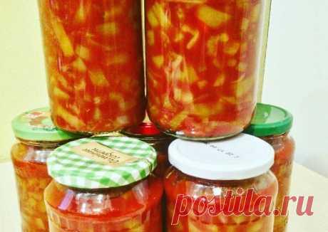 Лечо с томатной пастой - пошаговый рецепт с фото. Автор рецепта Катя Пастухова . - Cookpad