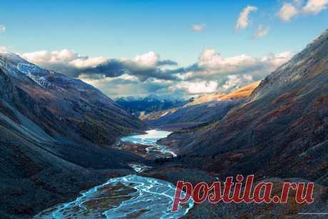 «Каменный покой». Долина реки Ак-Кем, Алтай.
