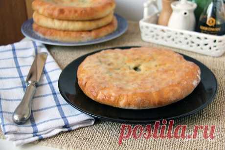 Осетинский пирог на кефире - пошаговый рецепт с фото на Повар.ру