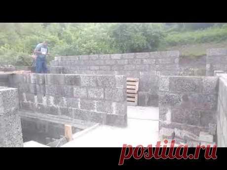 Дом из Арболит Блока / Строительство домов из Арболитовых блоков / Арболит Юг