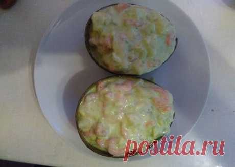 (17) Салат с авокадо, ананасом и креветками - пошаговый рецепт с фото. Автор рецепта Pit Juk . - Cookpad
