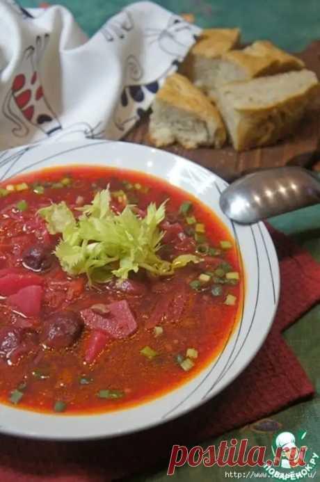 Красный борщ с вишней и орехами - восхитительная гамма потрясающих вкусов! - Ваши любимые рецепты - медиаплатформа МирТесен