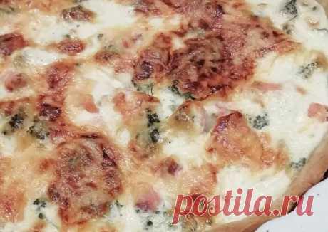 Французский киш с лососем и брокколи - пошаговый рецепт с фото. Автор рецепта Олеся Ревус 🏃♀️ . - Cookpad