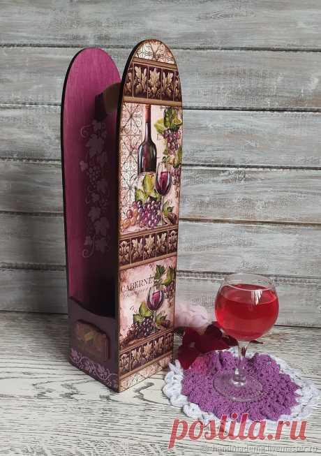 Подставки для бутылок Виноградная лоза – купить на Ярмарке Мастеров – OJ59KRU   Подставки для бутылок и бокалов, Москва