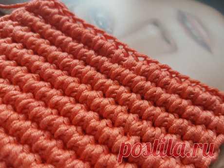 Узор для вязания сумок и ковров, который вы давно искали🌶 | Asha. Вязание и дизайн.🌶Сонник. | Яндекс Дзен
