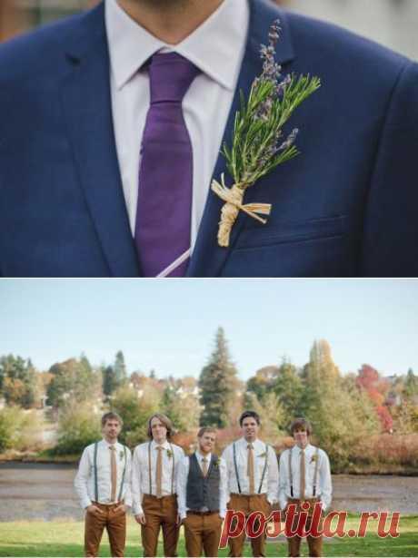 Свадебная бутоньерка жениха | La amo