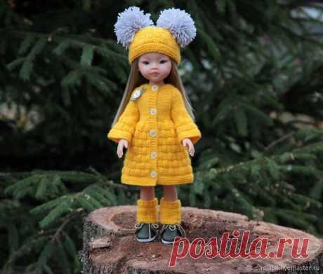 Мастер-класс : Шапка и гетры из комплекта «Белочка» для кукол Паола Рейна ростом 32-34 см   Журнал Ярмарки Мастеров