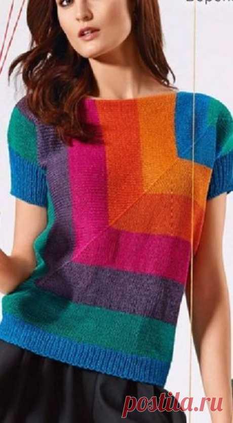 Идеи для пэчворка в вязании.