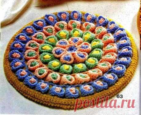 JAPANESE RUG KNITTED HOOK