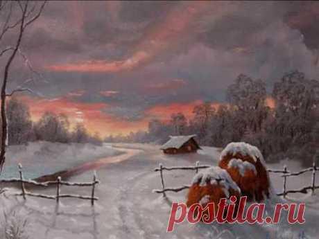 Красиво о зиме. Живопись