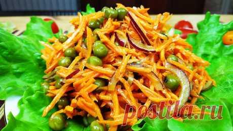 Минутный салат из 3-х ингредиентов! | Кулинарный Микс | Яндекс Дзен