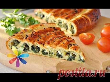 Как приготовить осетинский пирог со шпинатом - Рецепт от Все буде добре - Выпуск 385 - 05.05.14