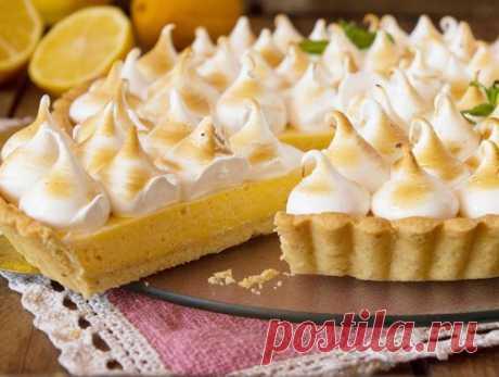 Освежающий лимонный пирог – два простых рецепта   Рекомендательная система Пульс Mail.ru